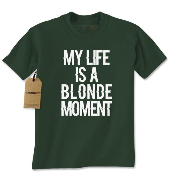 My Life Is A Blonde Moment Mens T-shirt