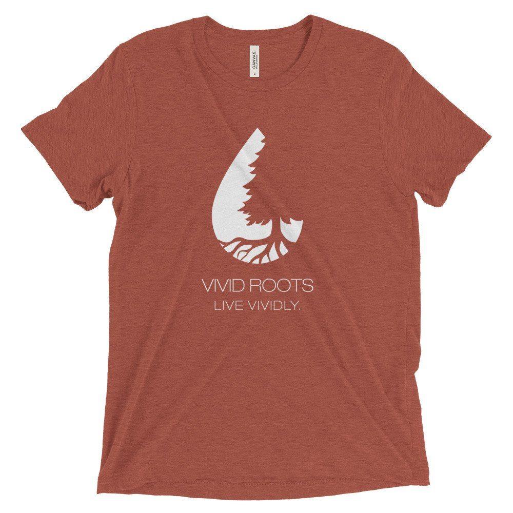 Original LV Tee – Men's Tri-Blend T-shirt – Vivid Roots