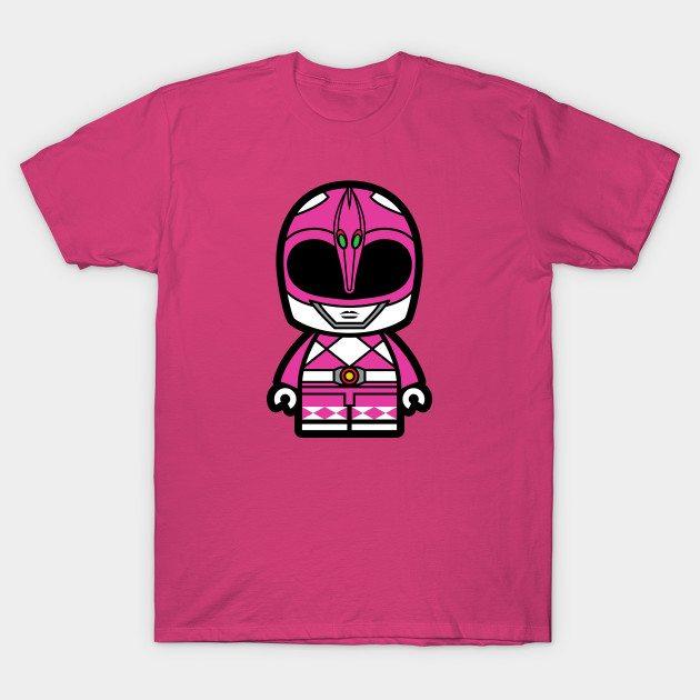 Pink Power Chibi Ranger T-Shirt