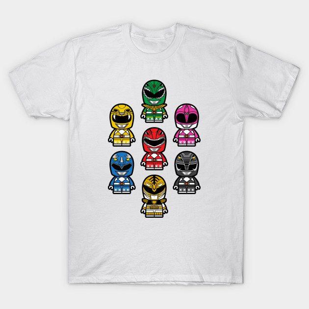 Power Chibi Rangers T-Shirt