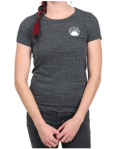 Protect Our Winters Women's Est. 2007 Mountain T-Shirt – eco black – Free Shipping