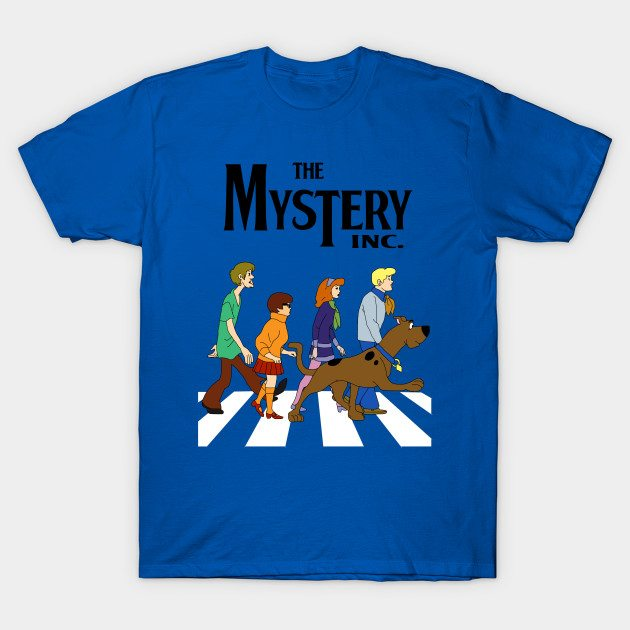 Scooby Doo Abbey Road T-Shirt