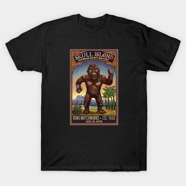 Skull Island Matches T-Shirt