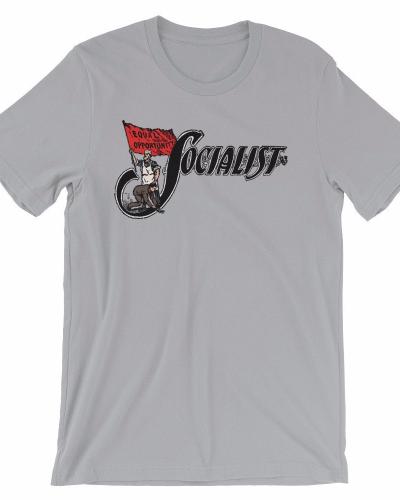 Socialist unisex short sleeve t-shirt