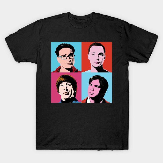 The Big Bang Warhol T-Shirt