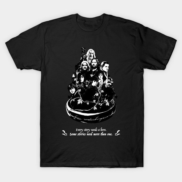 The Heroes of the Fellowship T-Shirt