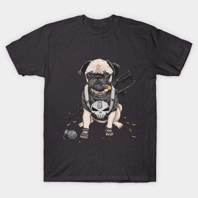 the PUGnisher T-Shirt