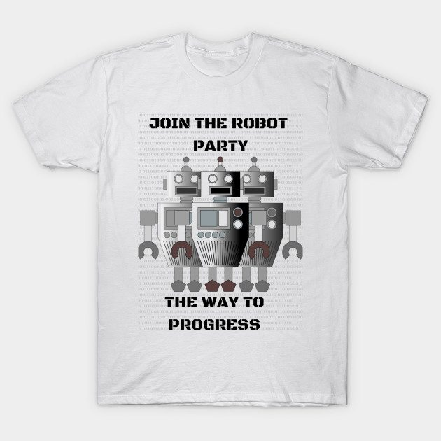 The Robot Party T-Shirt