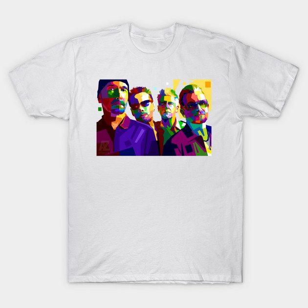 U2 IN WPAP T-Shirt