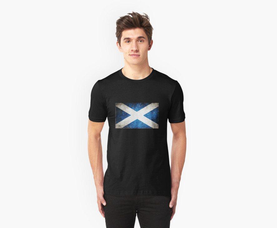 Vintage Scotland Flag