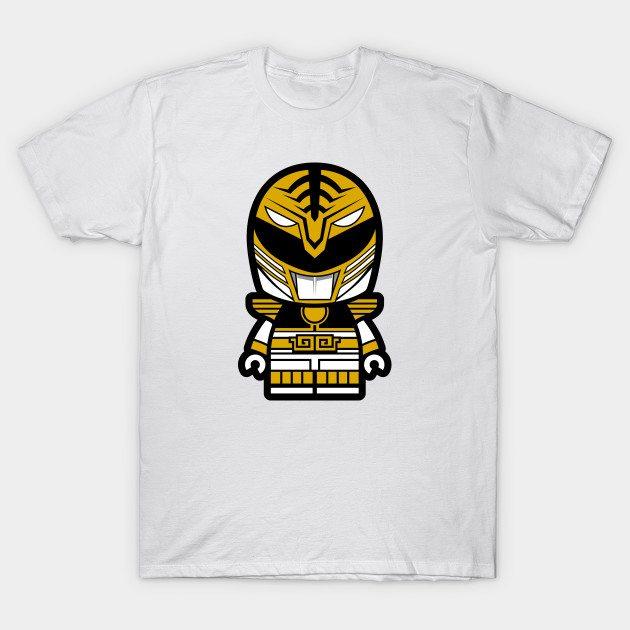 White Power Chibi Ranger T-Shirt