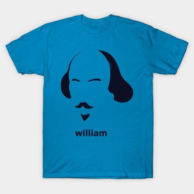 William Shakespeare (Hirsute History) T-Shirt