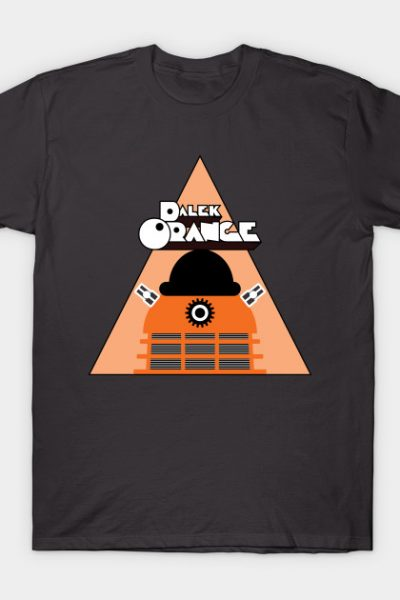 A Dalek Orange T-Shirt