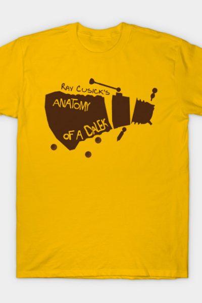 Anatomy of a Dalek T-Shirt