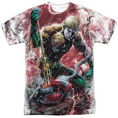 Aquaman Vs Manta Sublimation T-Shirt