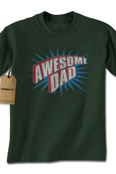 Awesome Dad Mens T-shirt
