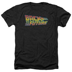 Back to the Future Classic Logo Heather T-Shirt