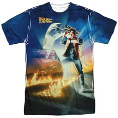 Back To The Future Classic Movie Poster All Over Sublimation T-Shirt