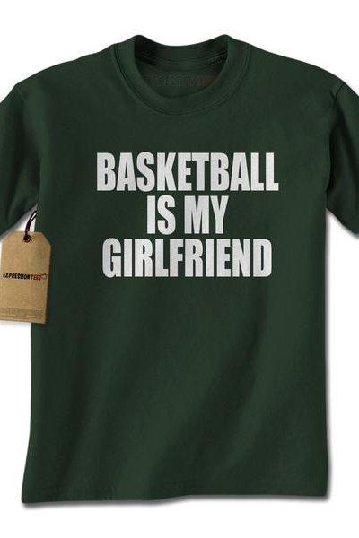 Basketball Is My Girlfriend Mens T-shirt