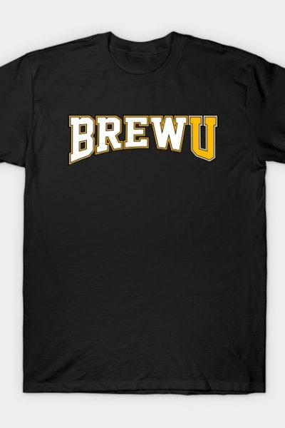 BrewU w/ Gold U T-Shirt