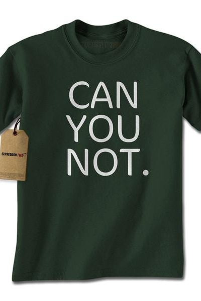 Can You Not. Mens T-shirt