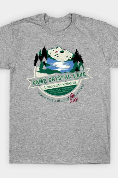Crystal Lake Corporate Retreats T-Shirt