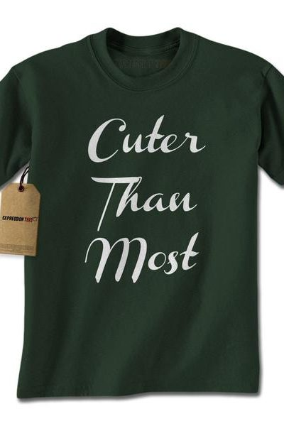 Cuter Than Most Mens T-shirt