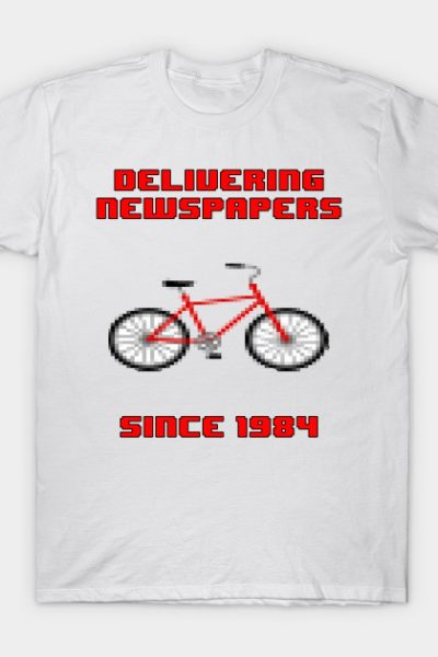 Delivering Newspapers Since 1984 T-Shirt