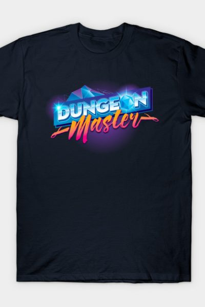 Dungeon Mastery Outrun Neon T-Shirt