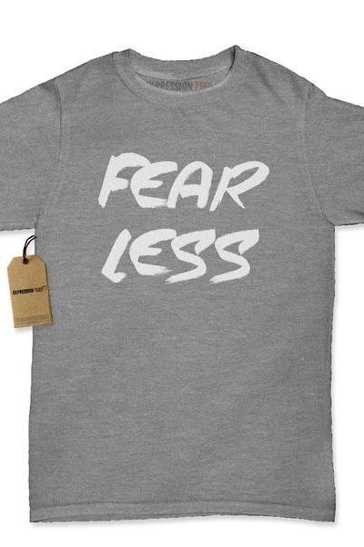 Fear Less Fearless Womens T-shirt