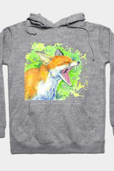Fox Hoodie Hoody