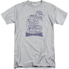 Garfield King Of The Grill Tall T-Shirt