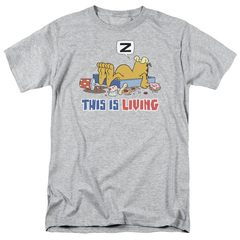 Garfield This Is Living T-Shirt