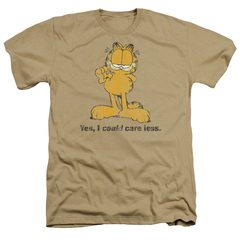 Garfield Yes I Could Care Less Heather T-Shirt