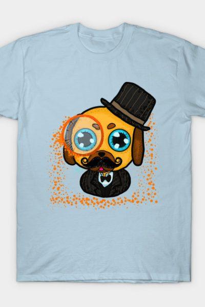 Gentleman pug T-Shirt