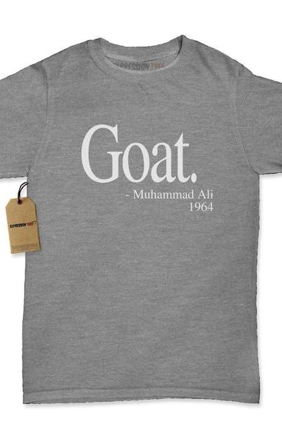 Goat Muhammad Ali Quote Womens T-shirt