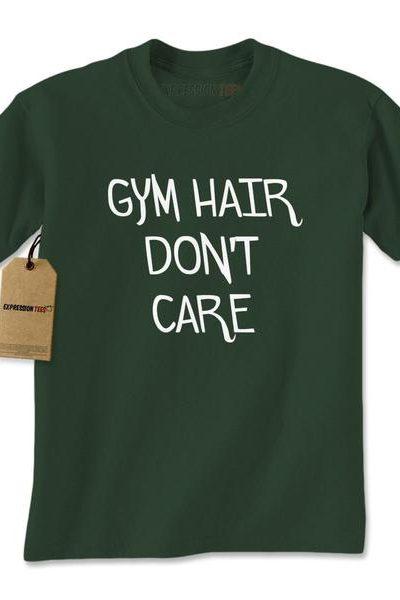 Gym Hair Don't Care Mens T-shirt