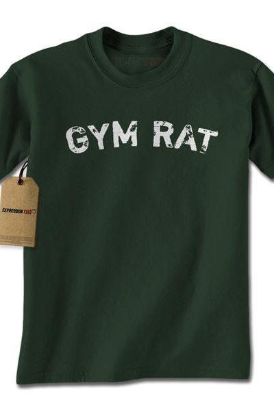 Gym Rat Workout Mens T-shirt