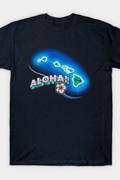 Hawaii Kawaii Hawaiian Cute T-shirt