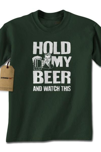 Hold My Beer Watch This Mens T-shirt