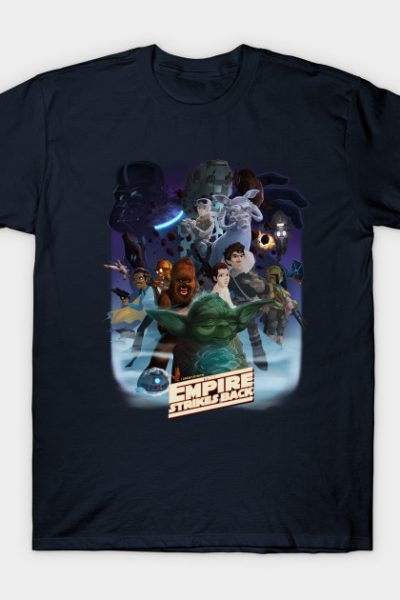 I grew up with The Empire Strikes Back T-Shirt