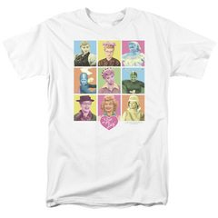 I Love Lucy So Many Faces T-Shirt