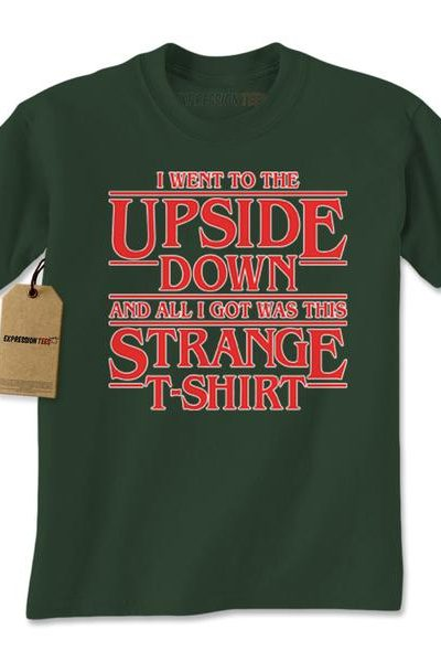 I Went To The Upside Down Mens T-shirt