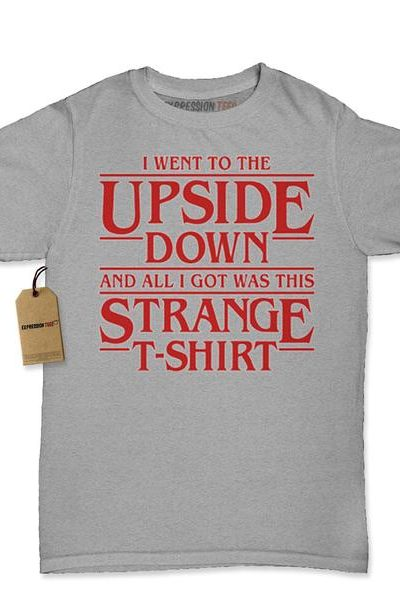 I Went To The Upside Down Womens T-shirt