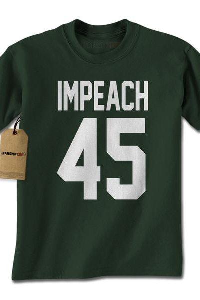 Impeach 45 President Mens T-shirt