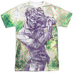 Joker Mad Mad Swirl Sublimation T-Shirt