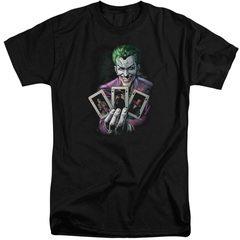 Joker Three Of A Kind Tall T-Shirt