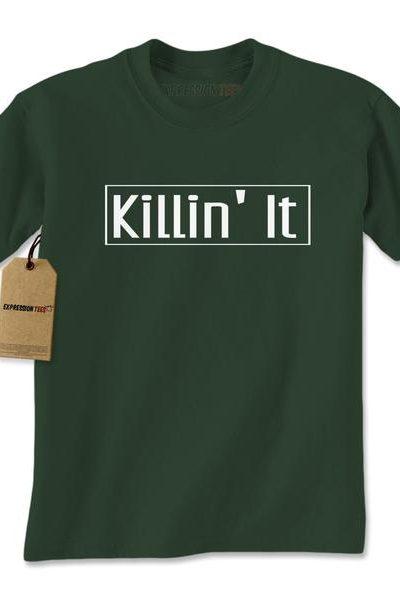 Killin' It Mens T-shirt