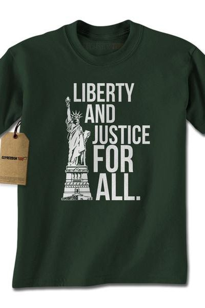 Liberty And Justice For All Mens T-shirt