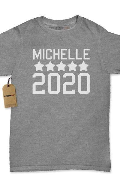 Michelle For President 2020 Womens T-shirt